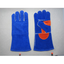 Premium Cow Split Leather Welder Work Glove-6515