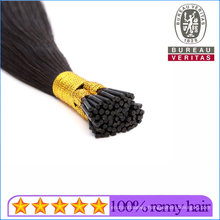 Wholesale Black Remy Hair Grade Brazilian Hair Human Virgin Hair I Tip Hair Extension