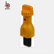 2016 Bloqueo eléctrico del agujero eléctrico de la nueva venta del diseño, con el stopple de goma para el tagout de la cerradura
