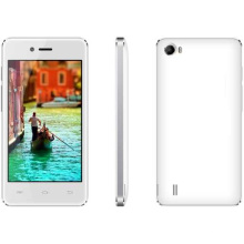 GSM 2band + WCDMA 2100 [3G] Android 4.4. Qual-Kern 1.0GHz, 3.97 '' WVGA Tn (gefälschtes IPS) [480 * 800], GPS intelligentes Telefon