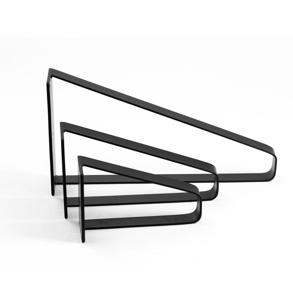 flat steel bench legs