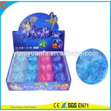 Новинка дизайн детские игрушки 65мм блеск красочные Стипе мигающий Хэллоуин печатных световой Привет прыгающий мяч