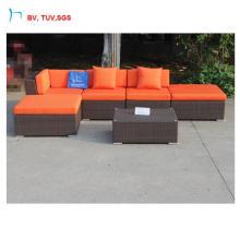 Garden Furniture Flat Rattan Sofa Set
