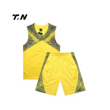 Sublimation Basket Uniform Custom Team Basket Wear Partihandel Senaste Bästa Design Basket Jersey