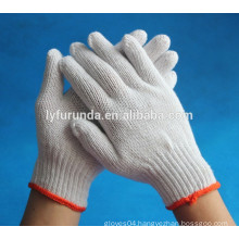 The factory of cheap cotton knitted 7 and 10 gauge working gloves
