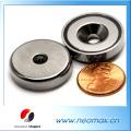 70 LB Holding Power Neodym-Cup-Magnet 1,26 '' Pot Magnet
