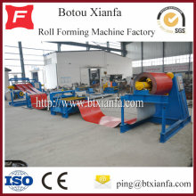 CNC Uncoiling Leveling slitting And Recoiling Line