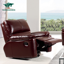 Manual Reclining Single Wooden Furniture Sofa Living Room Set Massage Armchair Sofa