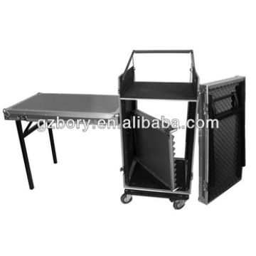 by Fzgs1316wdlx Flight Zone Glide Style ATA Combo Rack with Wheels and Side Table: 13u Top Slant, 16u Vertical