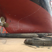 Ship Launching Batam Shipyard Airbag, Heavy Lifting, Marine Salvage Airbags