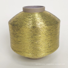 Factory  direct sell Gold & Silver metallic yarn 30D metallic thread for zari embroidery saree thread