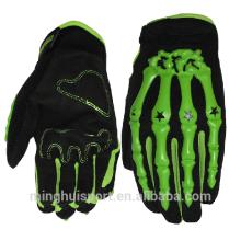 Venta directa de la fábrica Nueva llegada decoración de Halloween Demon Ghost Skull Knuckle guantes de Motocross