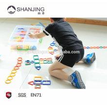 Inteligência link de plástico brinquedos para crianças, presente original idéia brinquedos educativos brinquedos para crianças como presente