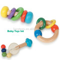 Baby Wooden Rattle Toys Set
