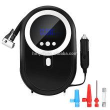 Bomba de Compressor de Ar portátil, 12 V 120 W Digital Compact Inflator do Pneu com LED para Carro, Caminhão, bicicleta ou B ...