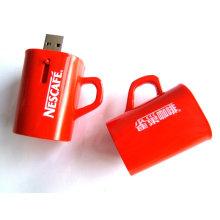 Custom Usb Sticks 64mb, 256mb, 4gb Red Coffee Cup Flash Drive Transformer For Windows Me