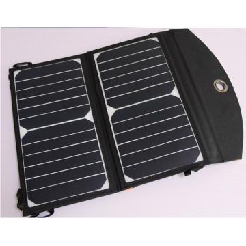 Chargeur solaire pliable étanche pour camping 13W