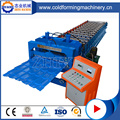 Cold Roof Aluminium Glazed Tile Roll Forming Machine