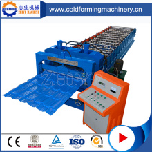 780 Glazed Tile Steel Roofing Roll Former Machine
