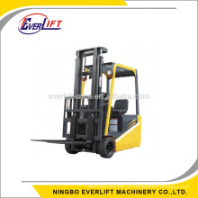 0.7, 1, 1.2, 1.6 toneladas de empilhadeira elétrica do contrabalanço da mini empilhadeira empilhada do baixo preço de 3 rodas para venda