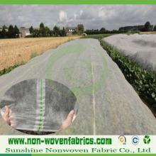 Tissu non-tissé traité aux UV de 3% pour l'agriculture