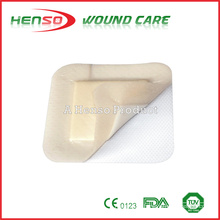 HENSO Soft Border Absorbent Foam Dressing