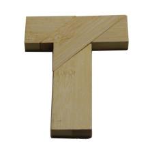 Letra T do enigma do enigma feito sob encomenda T para crianças