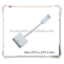 MINI DVI to DVI cable adaptor for Computer
