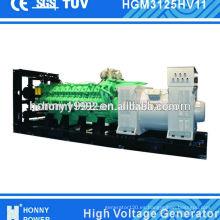 Generador diesel de emergencia de 2500kW