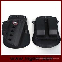 Taktische Airsoft Holster & Mag Pouch Set für M92 schwarz