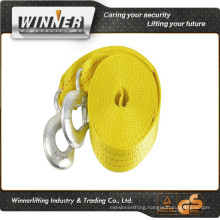 towing belt with New car towing hook