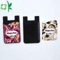 Portefeuille de téléphone unique adapté aux besoins du client de titulaire de la carte adhésive de silicone