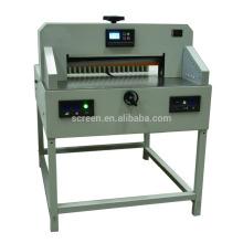 máquina de corte de papel operada manualmente