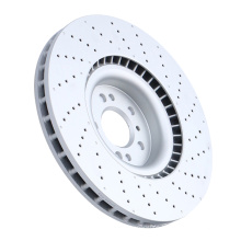 Auto parts front wheel brake disc for mercedes w221