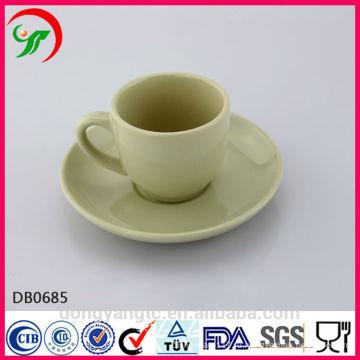 2015 новых продуктов изготовленный на заказ напечатанная керамическая чашка чая с блюдцем