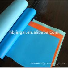 Embossed matt surface soft pvc roll