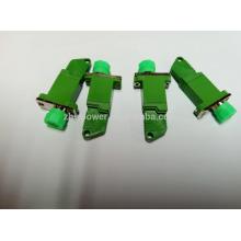 Гибридный одномодовый симплексный пластиковый оптоволоконный адаптер