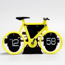 AM / PM Mostrando reloj de bicicleta para la decoración del hogar.