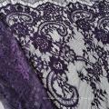 Nylon Eyelash French Wedding Veil Lace Trim 150CM