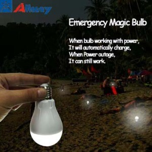 LED Emergency Light Bulb For Power Outages