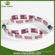 Neue Produkte maßgeschneiderte Logo Sport Armbänder