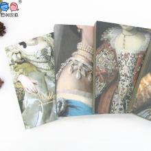 Europe Style en gros Custom Mini Hardcover Notebook avec cuivre (XLJ64128-X01)