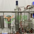 Stainless steel molecular distillation for distillate cbd oil machine