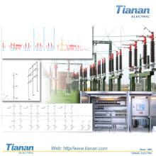 Secundário-Switchgear-Alta-tensão-Air-Isolar-Poder-Distribuição