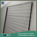 curvy welded mesh fence pvc coated wire fence