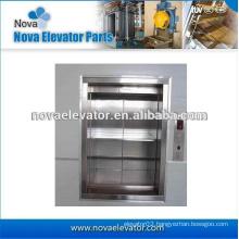 Small, Flexible, Simple BOLT Dumbwaiter elevator / Sundries Elevator for Hospital, Hotel