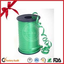 Rodillo de la cinta fina de los PP del color verde para las flores