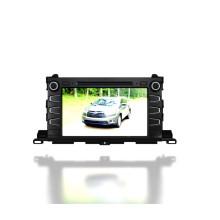 Windows CE Auto DVD Spieler für 2015 Toyota Highlander (TS9656)