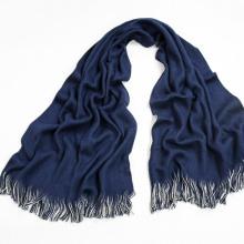 2016 Frauen Blue Tassel Acryl Schal im Winter M14-2