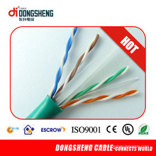 CE / RoHS / ETL LAN Cable Solid 0.57mm / 0.55mm UTP CAT6
